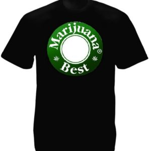 Best Marijuana Beer Caps Tee-Shirt Black
