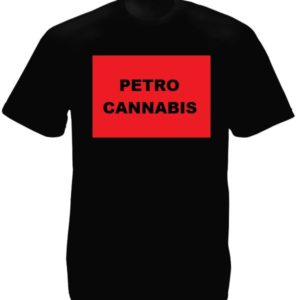 Cannabis Canada Black Tee-Shirt