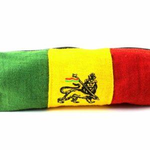 Pencil Case Hemp Lion of Judah Green Yellow Red กระเป๋าใส่ดินสอใยกัญชา HEMP PENC