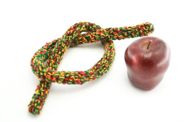 RASTA ROPE MIXED COLORS GREEN YELLOW RED TIE UP DREADLOCKS