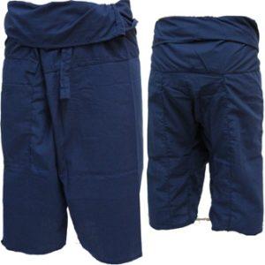 Trousers Thai Fisherman Pants Dark Blue กางเกงชาวเลสไตล์ราสต้า-เรกเก้ สีน้ำเงินก