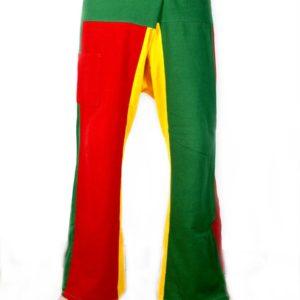 Trousers Fisherman Pants Thai Rasta Green Yellow Red กางเกงชาวเลสไตล์ราสต้า งาน