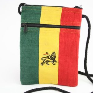Bag Passport Hemp Lion of Judah Zip กระเป๋าใยกัญชา ปักลาย LION OF JUDAH ขนาด 5