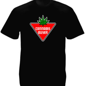 Cannabis Buyer Black Tee-Shirt เสื้อยืดสีดำ Cannabis Buyer Black Tee-Shirt