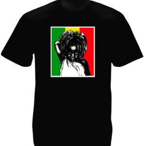 Rastababy Rasta Kid Black Tee-Shirt เสื้อยืดคอกลมสีดำสกรีนลายเด็กน้อยราสต้า บนพื
