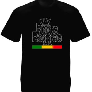 Roots Reggae Black Tee-Shirt