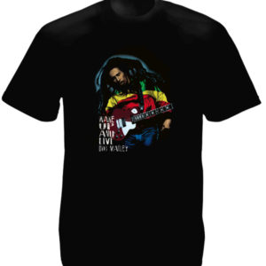 Wake Up and Live Bob Marley Black Tee-Shirt